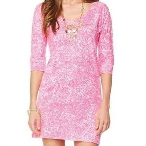LILLY PULITZER Eliza Dress in Hotty Pink Size XS